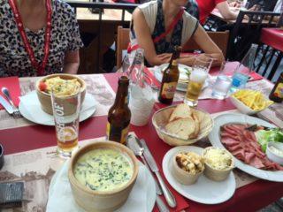 スイスの食事