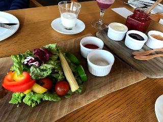 オーベルジュ白い花 朝食
