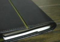 【9】黒オリーブ手帳カバー