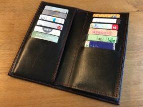 革のカードケース カードホルダー
