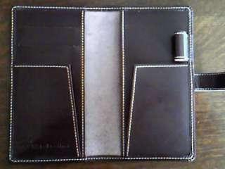 メモホルダー 革の手帳カバー
